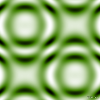 Olive Drab and Black and White circular plasma waves seamless tileable