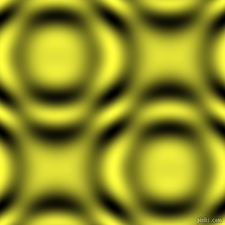 Paris Daisy and Black and White circular plasma waves seamless tileable