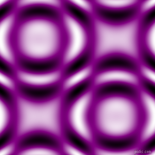 Purple and Black and White circular plasma waves seamless tileable