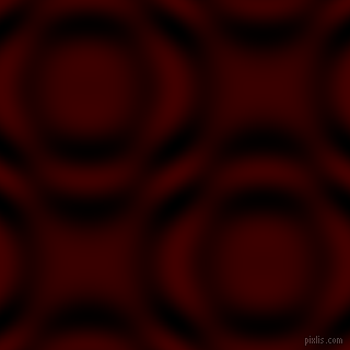 Red Oxide and Black and White circular plasma waves seamless tileable