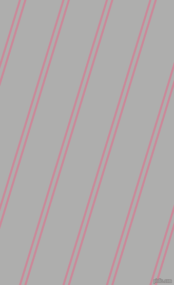 73 degree angles dual stripe lines, 4 pixel lines width, 6 and 67 pixels line spacing, dual two line striped seamless tileable