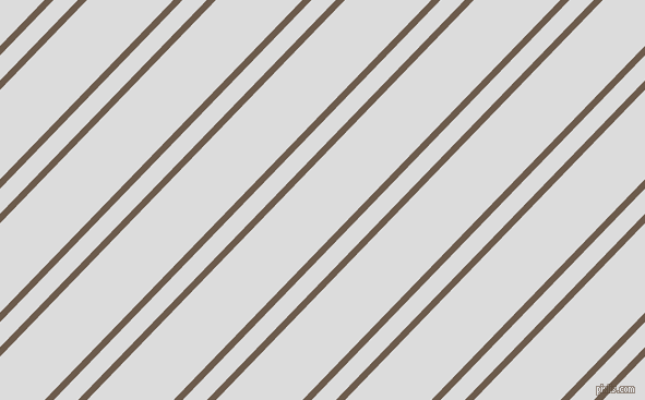 46 degree angles dual stripes line, 6 pixel line width, 16 and 57 pixels line spacing, dual two line striped seamless tileable