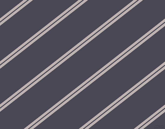 38 degree angles dual stripe line, 10 pixel line width, 4 and 115 pixels line spacing, dual two line striped seamless tileable