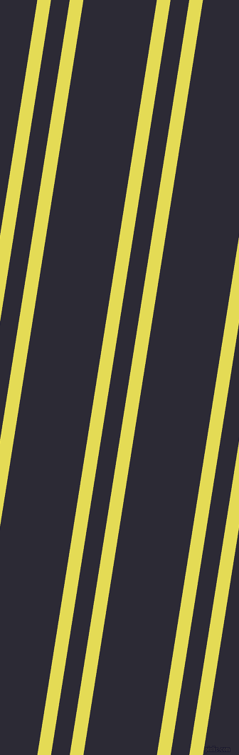 81 degree angles dual stripes lines, 19 pixel lines width, 26 and 102 pixels line spacing, dual two line striped seamless tileable