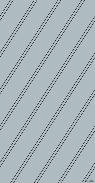 57 degree angles dual stripes lines, 2 pixel lines width, 8 and 70 pixels line spacing, dual two line striped seamless tileable