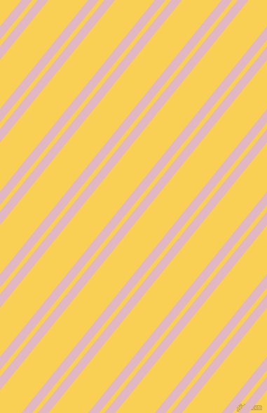 51 degree angles dual striped lines, 12 pixel lines width, 6 and 44 pixels line spacing, dual two line striped seamless tileable