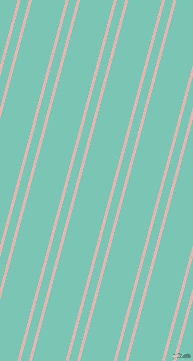75 degree angles dual stripe line, 6 pixel line width, 16 and 65 pixels line spacing, dual two line striped seamless tileable