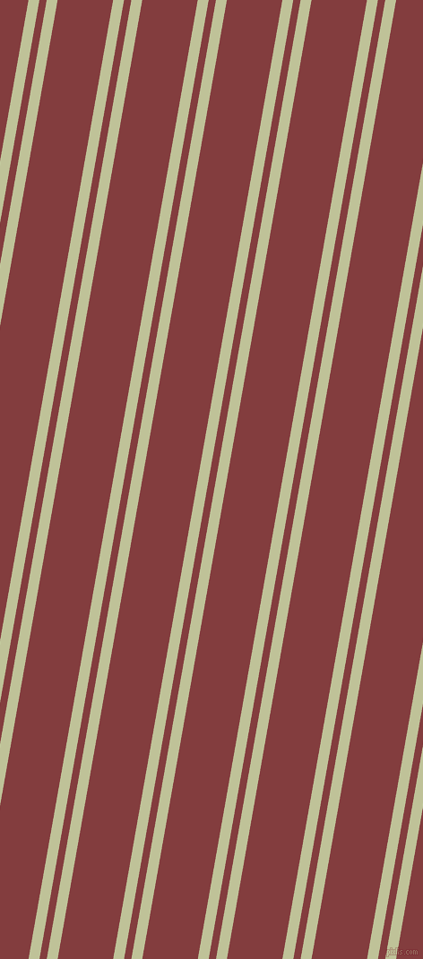80 degree angles dual stripe line, 12 pixel line width, 8 and 61 pixels line spacing, dual two line striped seamless tileable