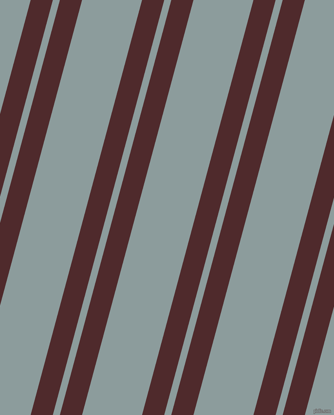 75 degree angle dual striped line, 44 pixel line width, 14 and 119 pixel line spacing, dual two line striped seamless tileable