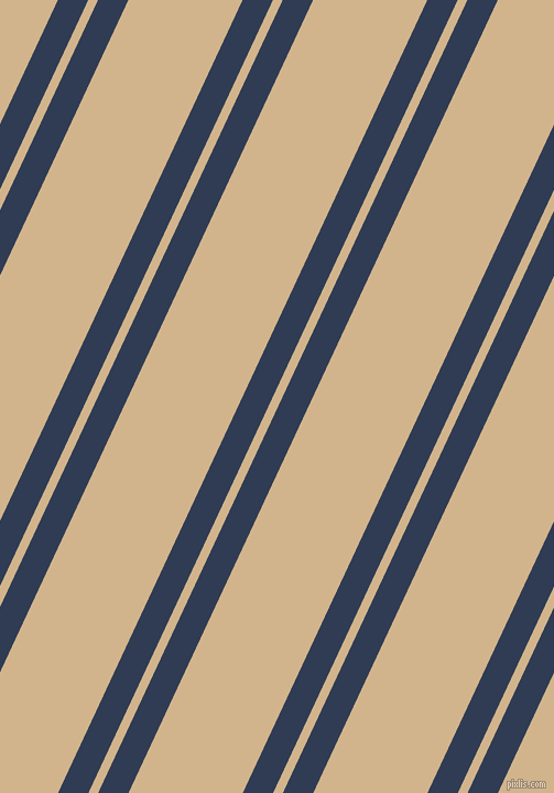 65 degree angles dual stripes line, 25 pixel line width, 8 and 94 pixels line spacing, dual two line striped seamless tileable