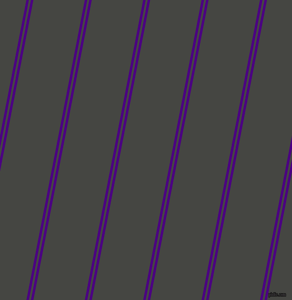 79 degree angles dual striped lines, 5 pixel lines width, 4 and 103 pixels line spacing, dual two line striped seamless tileable