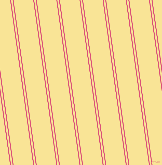 98 degree angle dual stripes line, 4 pixel line width, 6 and 76 pixel line spacing, dual two line striped seamless tileable