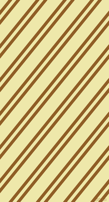 51 degree angle dual stripe line, 10 pixel line width, 10 and 39 pixel line spacing, Afghan Tan and Pale Goldenrod dual two line striped seamless tileable