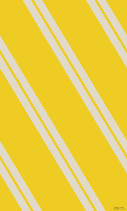 121 degree angles dual stripes lines, 24 pixel lines width, 8 and 124 pixels line spacing, Albescent White and Broom dual two line striped seamless tileable