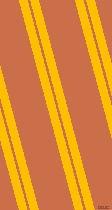 105 degree angles dual stripes lines, 29 pixel lines width, 8 and 118 pixels line spacing, Amber and Red Damask dual two line striped seamless tileable