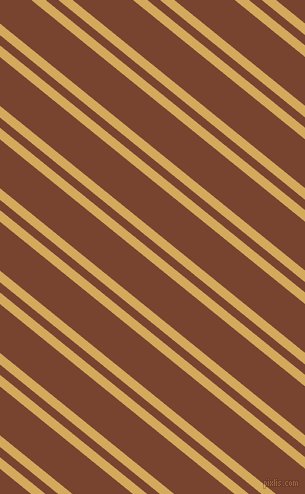 141 degree angles dual striped lines, 9 pixel lines width, 8 and 38 pixels line spacing, Apache and Cumin dual two line striped seamless tileable