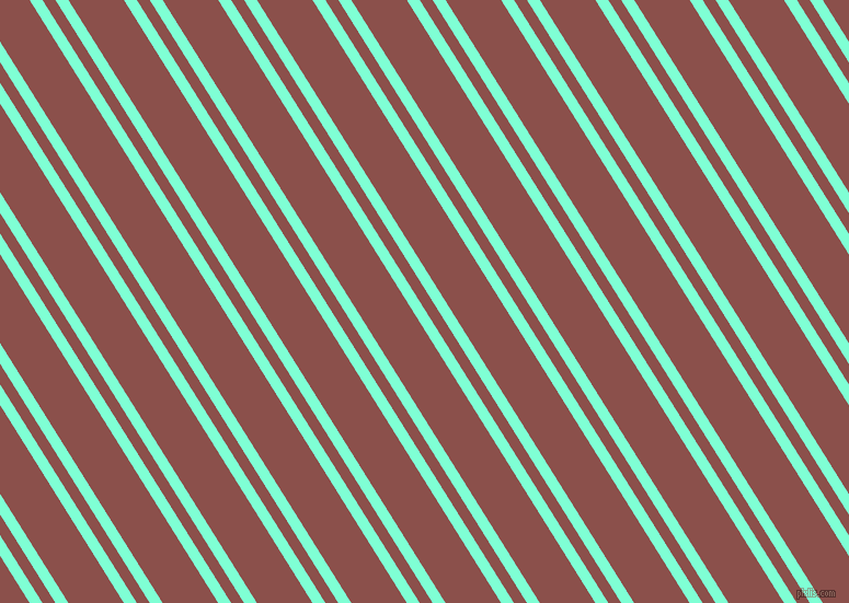 122 degree angles dual striped line, 10 pixel line width, 10 and 43 pixels line spacing, Aquamarine and Lotus dual two line striped seamless tileable