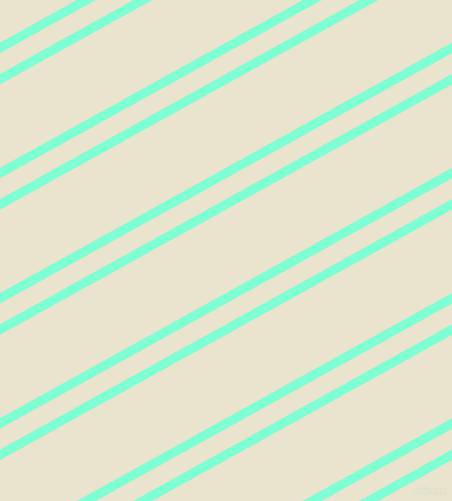 29 degree angles dual stripes lines, 10 pixel lines width, 20 and 80 pixels line spacing, Aquamarine and Orange White dual two line striped seamless tileable