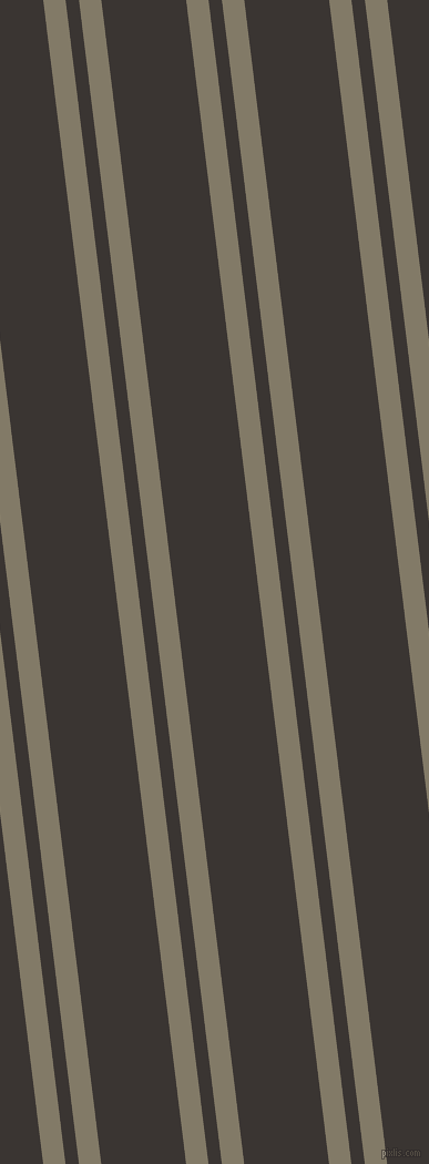 97 degree angles dual stripes line, 20 pixel line width, 12 and 76 pixels line spacing, Arrowtown and Kilamanjaro dual two line striped seamless tileable