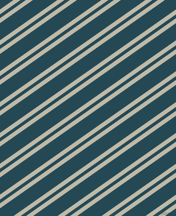 35 degree angles dual stripes line, 13 pixel line width, 10 and 45 pixels line spacing, Ash and Teal Blue dual two line striped seamless tileable