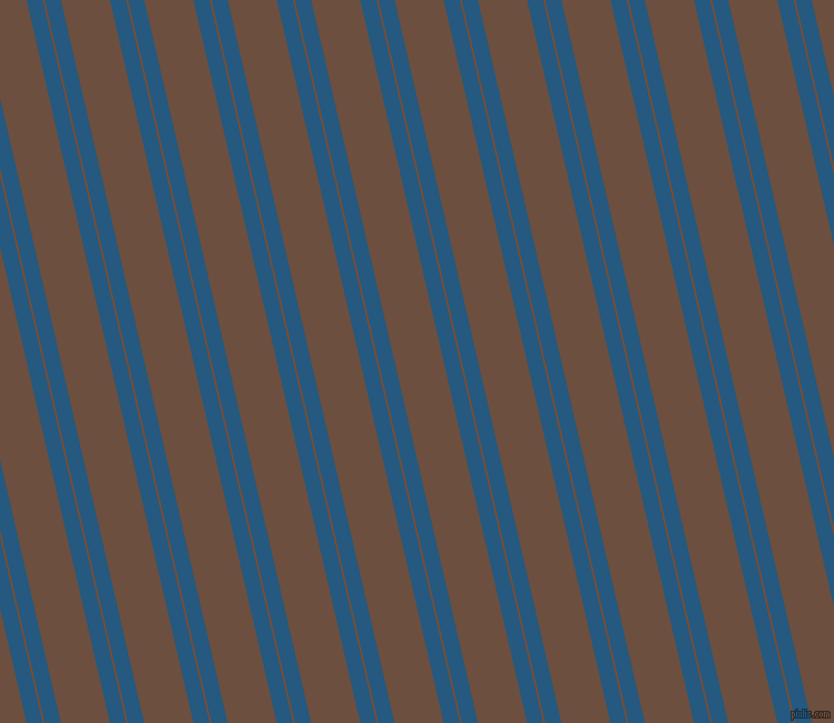 103 degree angle dual stripe line, 14 pixel line width, 2 and 43 pixel line spacing, Bahama Blue and Spice dual two line striped seamless tileable