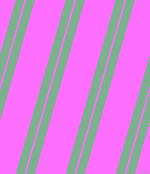 74 degree angle dual stripe lines, 29 pixel lines width, 6 and 103 pixel line spacing, Bay Leaf and Ultra Pink dual two line striped seamless tileable