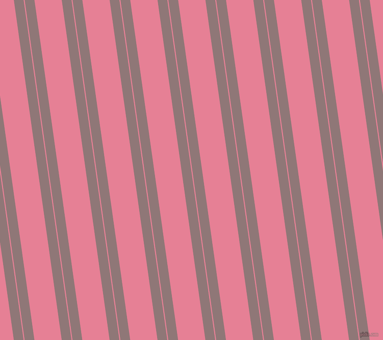 98 degree angle dual stripes line, 19 pixel line width, 2 and 53 pixel line spacing, Bazaar and Carissma dual two line striped seamless tileable