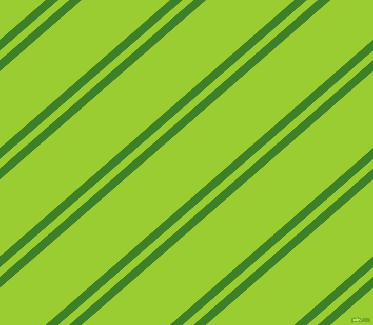 41 degree angles dual stripe lines, 16 pixel lines width, 14 and 113 pixels line spacing, Bilbao and Yellow Green dual two line striped seamless tileable