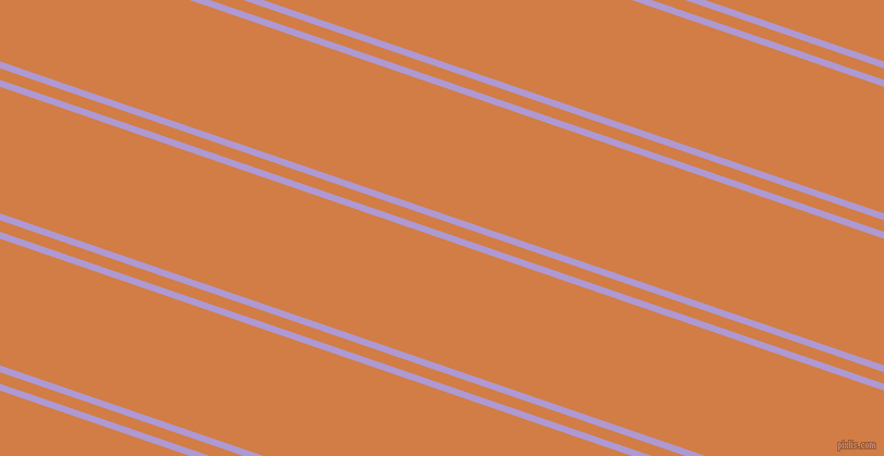 161 degree angle dual stripe lines, 6 pixel lines width, 10 and 110 pixel line spacing, Biloba Flower and Raw Sienna dual two line striped seamless tileable