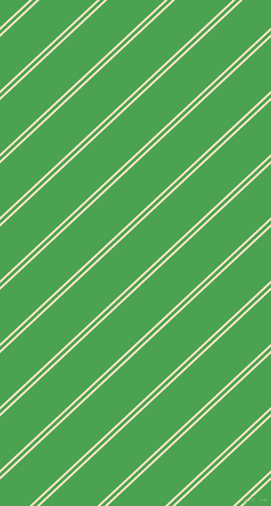 43 degree angle dual striped line, 3 pixel line width, 4 and 56 pixel line spacing, Bisque and Fruit Salad dual two line striped seamless tileable
