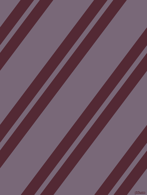 53 degree angles dual striped line, 37 pixel line width, 16 and 112 pixels line spacing, Black Rose and Old Lavender dual two line striped seamless tileable