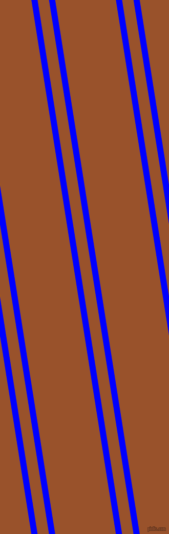 99 degree angles dual stripe lines, 12 pixel lines width, 22 and 117 pixels line spacing, Blue and Hawaiian Tan dual two line striped seamless tileable