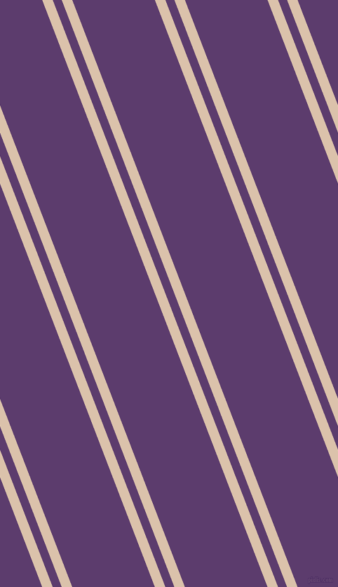 111 degree angles dual stripes lines, 14 pixel lines width, 12 and 110 pixels line spacing, Bone and Honey Flower dual two line striped seamless tileable