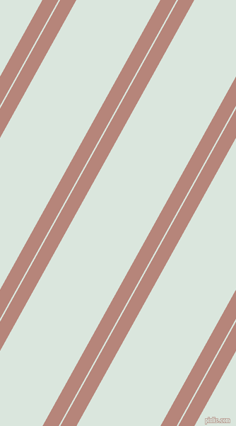 61 degree angles dual stripe lines, 20 pixel lines width, 2 and 104 pixels line spacing, Brandy Rose and Swans Down dual two line striped seamless tileable