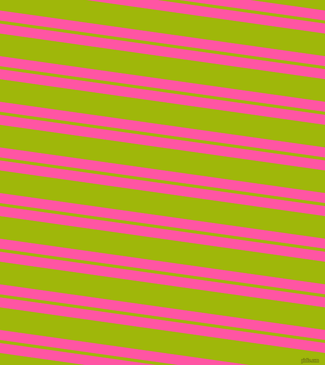 172 degree angles dual striped lines, 20 pixel lines width, 6 and 45 pixels line spacing, Brilliant Rose and Citrus dual two line striped seamless tileable