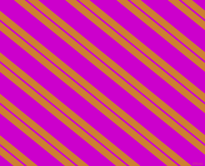 141 degree angles dual stripe line, 23 pixel line width, 6 and 58 pixels line spacing, Bronze and Deep Magenta dual two line striped seamless tileable