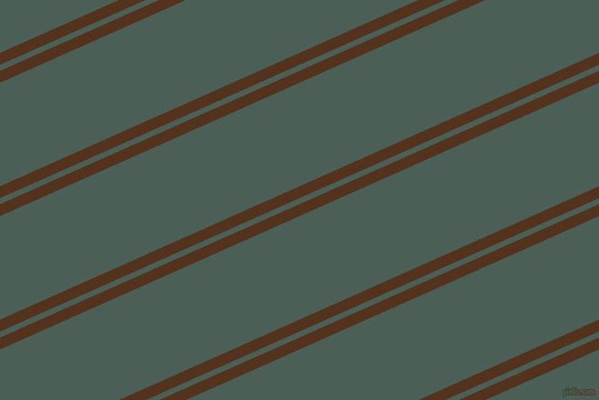 24 degree angle dual striped lines, 12 pixel lines width, 6 and 104 pixel line spacing, Brown Bramble and Viridian Green dual two line striped seamless tileable