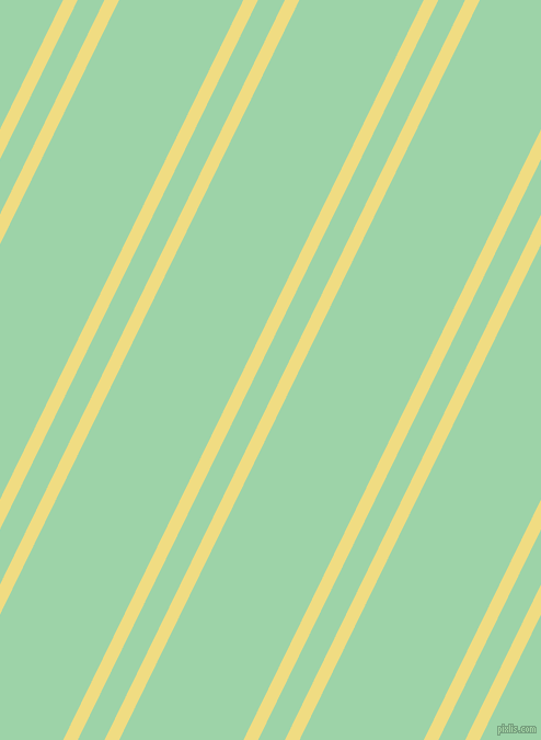 64 degree angles dual striped lines, 12 pixel lines width, 22 and 102 pixels line spacing, Buff and Chinook dual two line striped seamless tileable