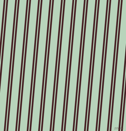 85 degree angles dual stripe line, 7 pixel line width, 4 and 29 pixels line spacing, Bulgarian Rose and Surf dual two line striped seamless tileable