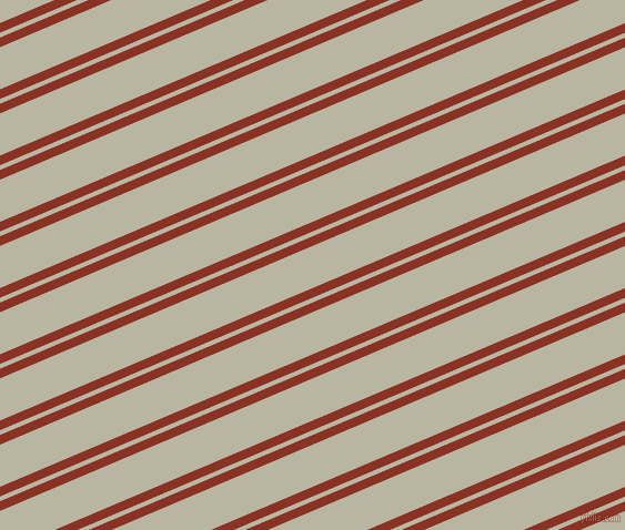 23 degree angles dual striped line, 8 pixel line width, 4 and 35 pixels line spacing, Burnt Umber and Tana dual two line striped seamless tileable