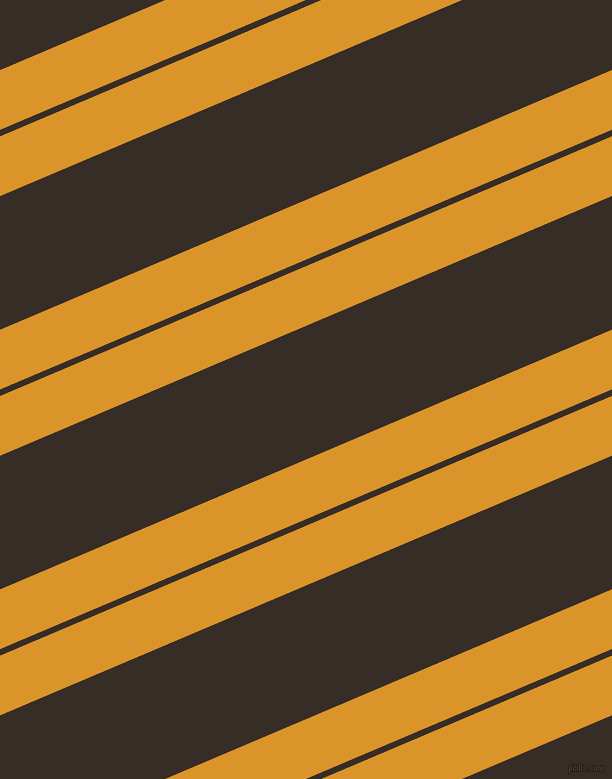 23 degree angle dual stripe line, 55 pixel line width, 6 and 123 pixel line spacing, Buttercup and Coffee Bean dual two line striped seamless tileable