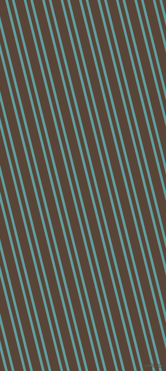 104 degree angles dual stripe lines, 5 pixel lines width, 8 and 18 pixels line spacing, Cadet Blue and Brown Derby dual two line striped seamless tileable
