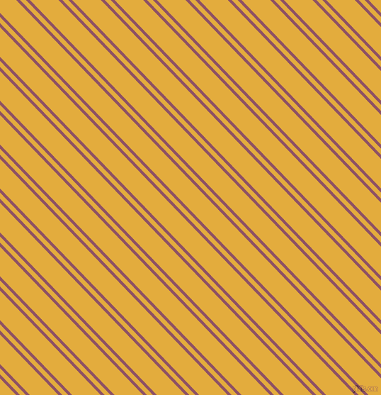 134 degree angle dual striped line, 4 pixel line width, 6 and 29 pixel line spacing, Cannon Pink and Tulip Tree dual two line striped seamless tileable
