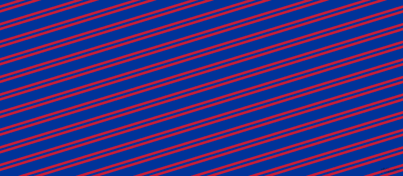 17 degree angle dual stripes lines, 5 pixel lines width, 4 and 19 pixel line spacing, Cardinal and Smalt dual two line striped seamless tileable