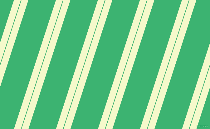 72 degree angle dual striped line, 21 pixel line width, 2 and 84 pixel line spacing, Carla and Medium Sea Green dual two line striped seamless tileable