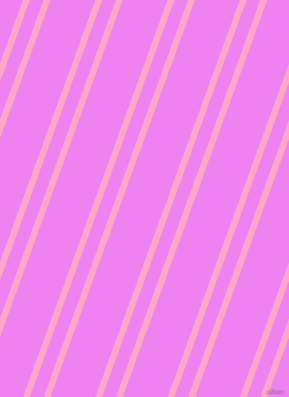 70 degree angles dual stripes lines, 13 pixel lines width, 26 and 85 pixels line spacing, Carnation Pink and Violet dual two line striped seamless tileable