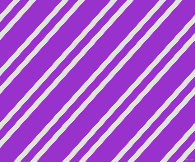 48 degree angles dual stripes line, 20 pixel line width, 28 and 76 pixels line spacing, Catskill White and Dark Orchid dual two line striped seamless tileable