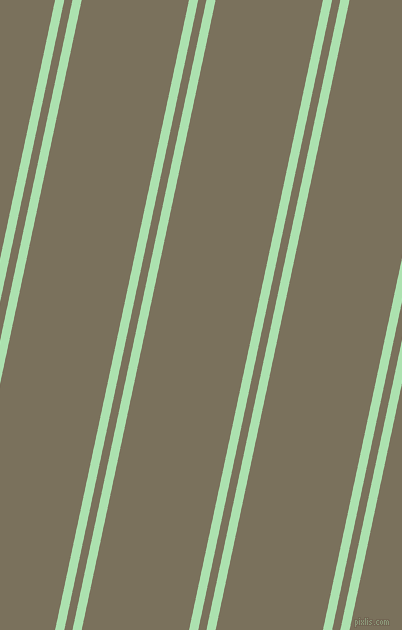 78 degree angles dual striped lines, 9 pixel lines width, 8 and 105 pixels line spacing, Celadon and Pablo dual two line striped seamless tileable