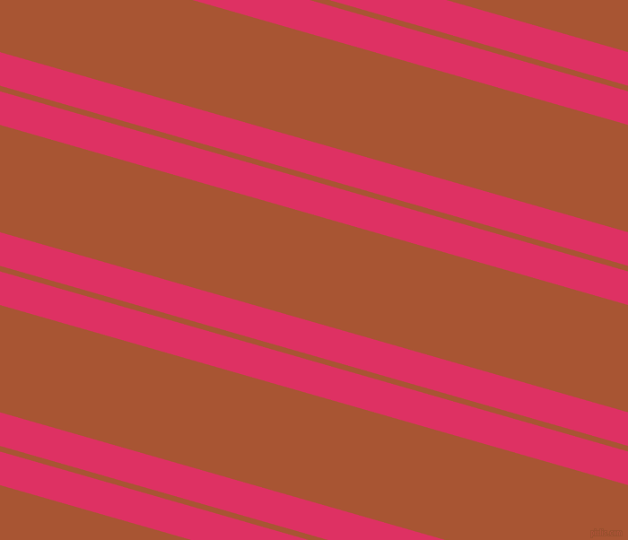 164 degree angle dual striped lines, 36 pixel lines width, 6 and 115 pixel line spacing, Cerise and Vesuvius dual two line striped seamless tileable