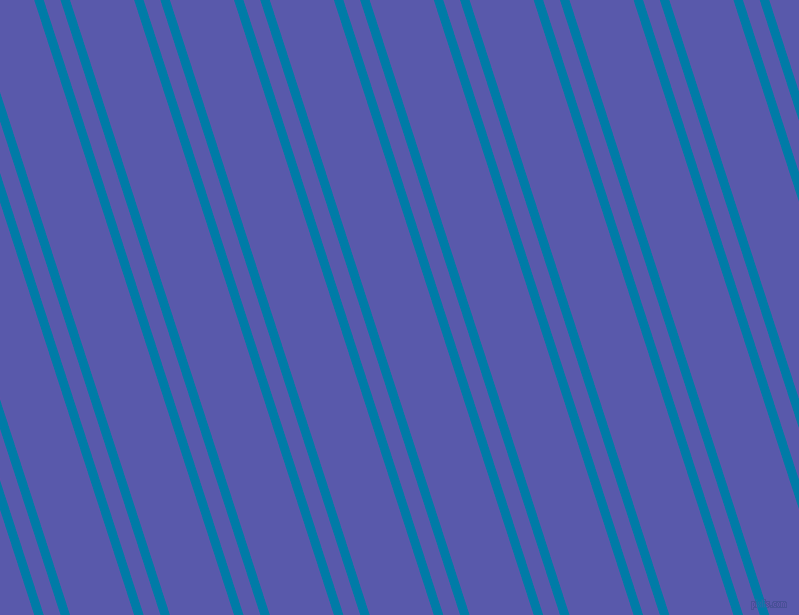 108 degree angles dual stripes lines, 9 pixel lines width, 16 and 61 pixels line spacing, Cerulean and Rich Blue dual two line striped seamless tileable